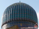 Mausoleum Gur-Emir. Samarkand, Uzbekistan