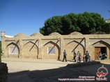 Tombe de Khodja Doniyar (prophète Daniel). Samarkand, Ouzbékistan