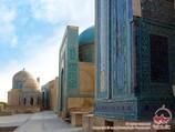 Некрополь Шахи-Зинда. Самарканд, Узбекистан