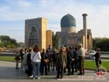 Mausoleo Gur-Emir (s.XV). Samarkanda, Uzbekistán