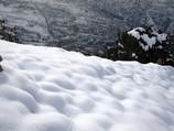 Snowy quilt