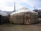 Cozy Kyrgyz yurts