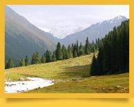 Altyn-Arashan hot spring