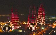 Баку - город будущего. Пленительные виды столицы «страны огней»