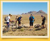 Le circuit à vélo dans la montagne et le désert de l'Ouzbékistan