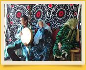 Сюзане. Декоративное искусство Узбекистана