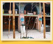 Дом керамиста Алишера Назирова. Риштан, Узбекистан
