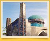 Мавзолей Мадари-хана (1825 год). Коканд, Узбекистан