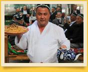 Узбекская чайхана. Средняя Азия, Узбекистан