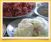 Долма (голубцы в виноградных листьях). Рецепт начинки для долмы. Блюда узбекской кухни