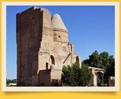 Memorial сomplex Dorus-Saodat