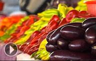 Узбекские фрукты и овощи