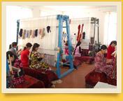 "Samarkand carpet factory ""Hudzhum"". Handmade Silk Carpets. Central Asia, Uzbekistan"