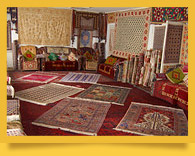 Samarkand carpet factory «Hudzhum»