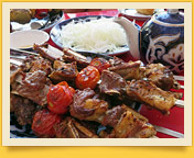 Uzbek Shish Kebab