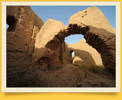 Kirk-Kiz Fortress. Termez, Uzbekistan