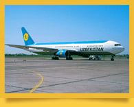 Trafic aérien en Ouzbékistan