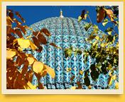 Купол мавзолея Гур-Эмир (усыпальница Амира Тимура), Самарканд, Узбекистан