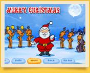Новогодние музыкальные flash открытки с анимацией