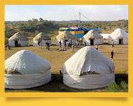 Юртовые лагеря