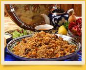 Плов. Узбекская национальная кухня