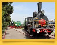 Ташкентский Музей железнодорожной техники. Музей старинных паровозов в Ташкенте