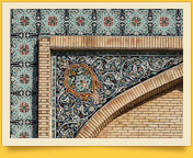 Said Ahmad-Khodja Madrasah. Fergana Valley, Uzbekistan