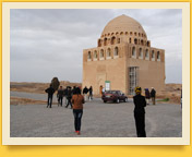 Мавзолей султана Санджара (XII в). Мерв, Туркменистан