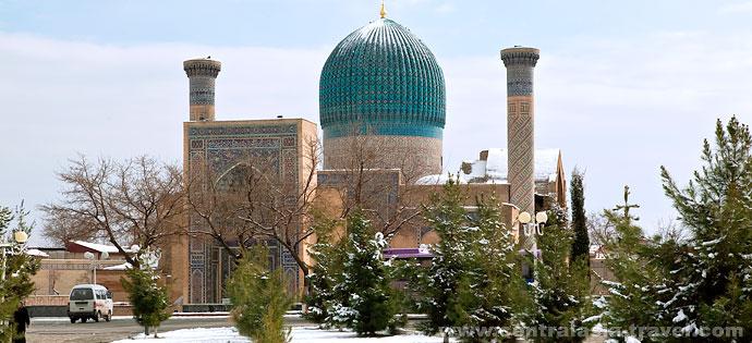 Мавзолей Гур-Эмир. Самарканд, Узбекистан