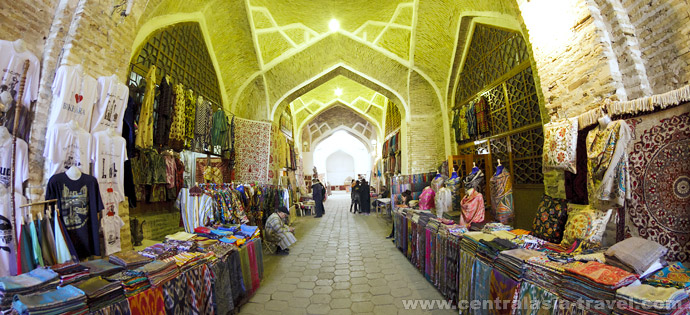 Торговые купола Бухары