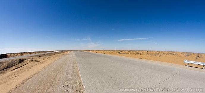 désert connu  Kizilkum