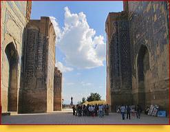 Le palais Ak-Saray. Chakhrisabz, Ouzbékistan