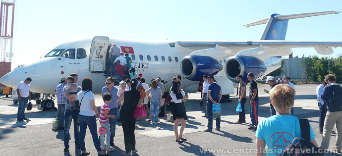 Arrival to Osh