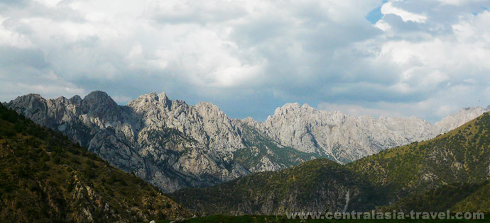 Turkestan ridge