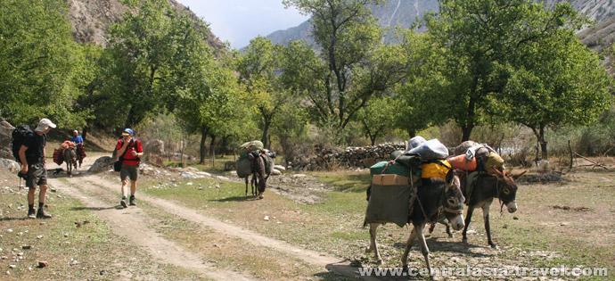 Transfer from Uzgarysh village to Os