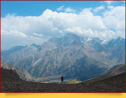 Перевал Урям (3760 м)