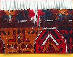 Fabricación de alfombras en Uzbekistán