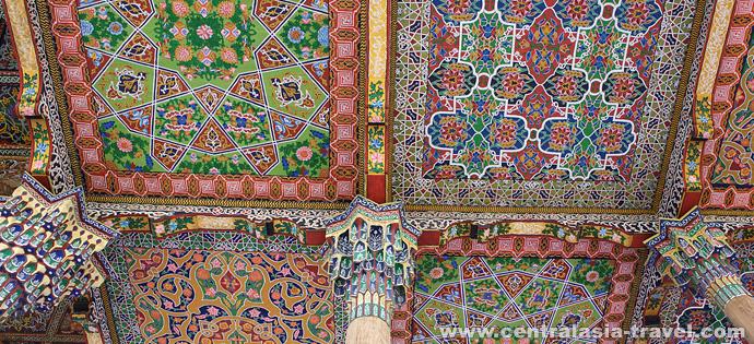 Palace of Khudoyar Khan. Kokand, Uzbekistan, fergana valley, tour to uzbekistan