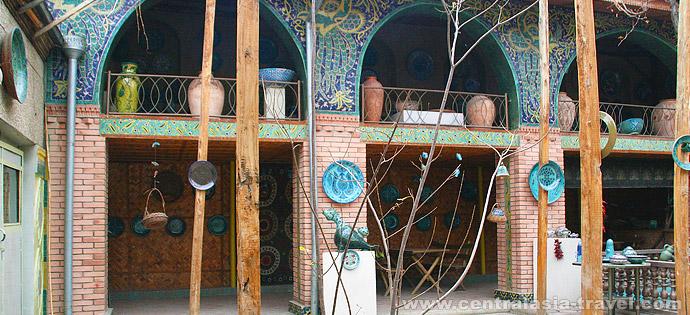 Cerámica de Rishtan, Ouzbékistan, vallée de Fergana, ouzbekistan voyage, circuit en ouzbekistan