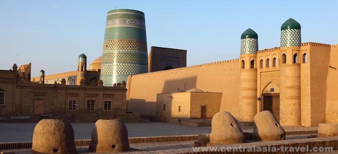 Itschan-Kala. Chiwa. Reise nach Usbekistan