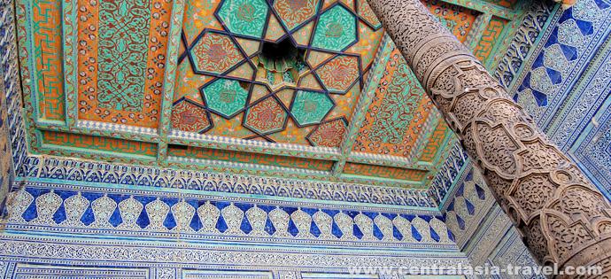 Palast von Tasch Chauli. Chiwa, Reise nach Usbekistan