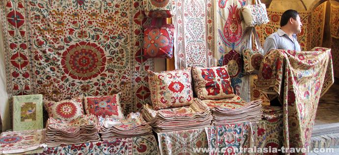 Mercado en Bukhara. Viaje a Uzbekistán