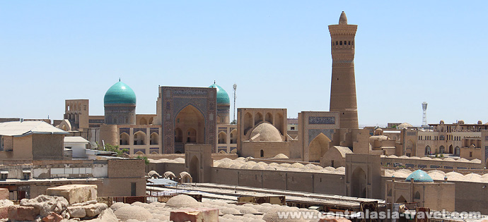 Buchara, Usbekistan. Reise nach Usbekistan