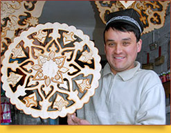 Uzbek craftsmen