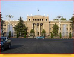 La plaza de Putovsky. Dushanbe