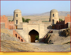 Dushanbe. La fortaleza de Gissar