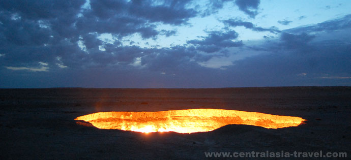 Darwaza gas crater