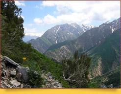 Чимганские горы. Западный Тянь-Шань, Узбекистан