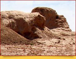 Крепость Гяур-кала (IV век до н. э. - IV век н. э.). Хорезмская область, Узбекистан