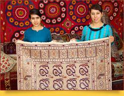 "Samarkand carpet factory ""Hudzhum"""